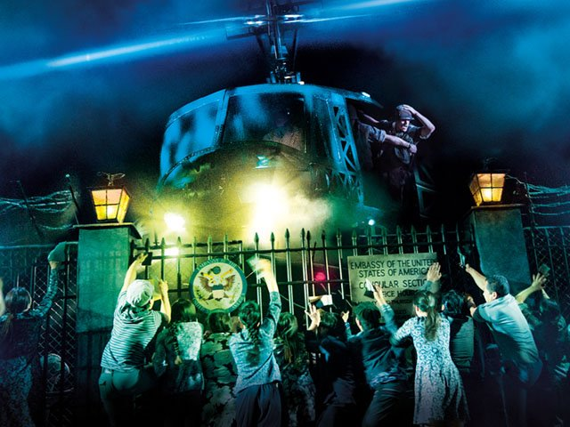 "Production photo from the touring production of ""Miss Saigon,"" opening April 2 at Madison's Overture Center."