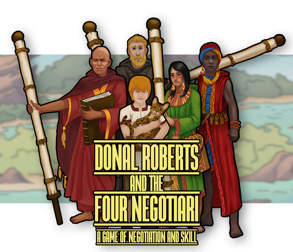 Dirk Roberts and the four negotiari: a game of negotiation and skill - negotiation training