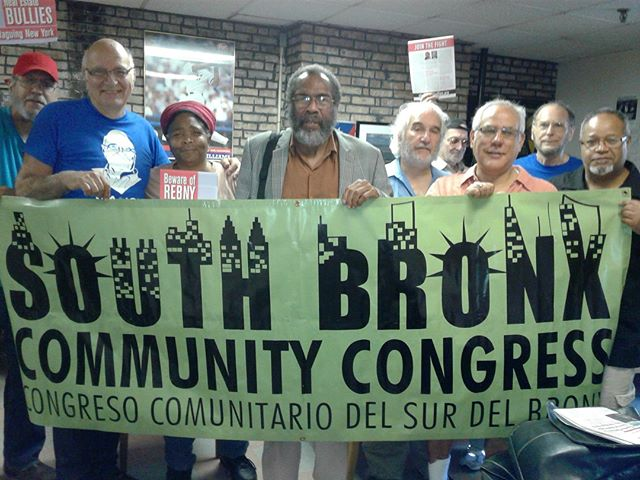 Had a great meeting with NYers from the South Bronx Community Congress!