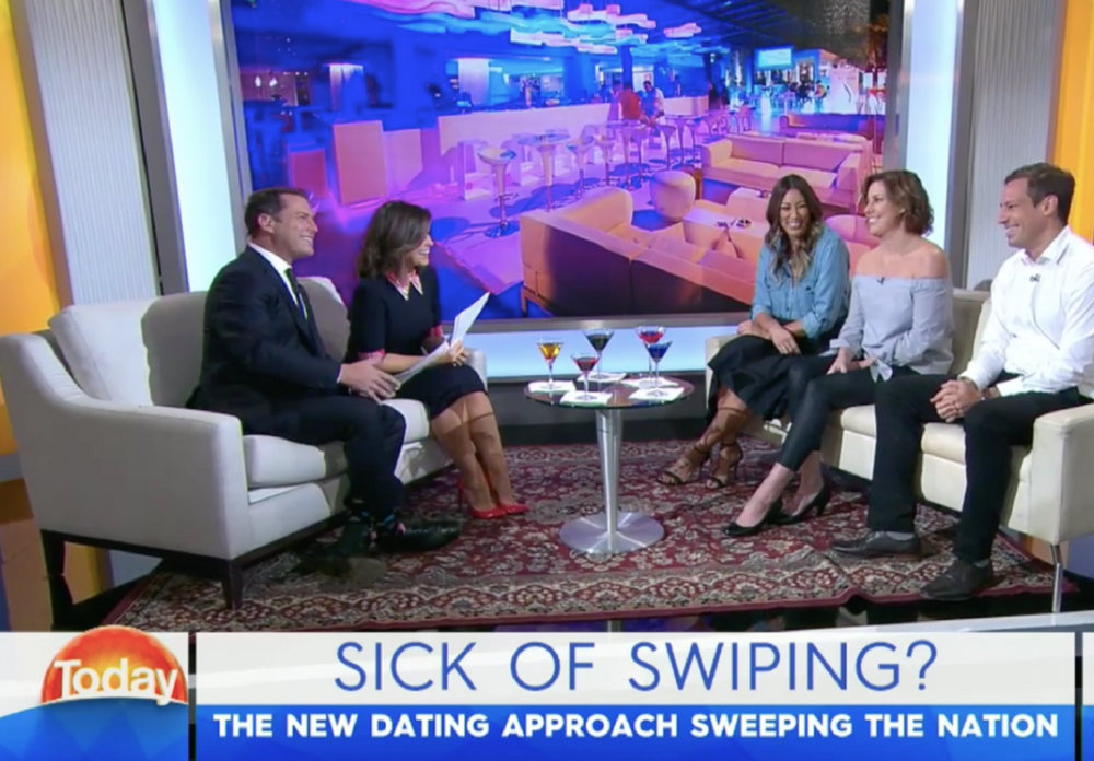 THE TODAY SHOW SICK OF SWIPING? The new dating approach sweeping the nation
