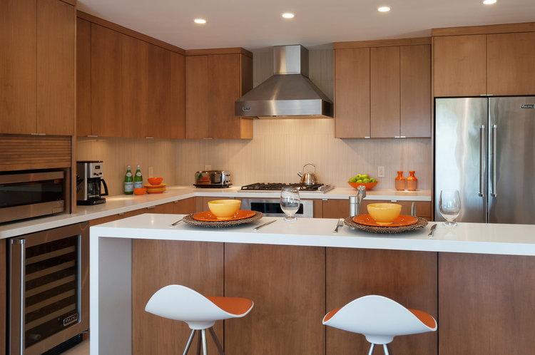Silver Lake Kitchen & Fireplace — J. Banks Design