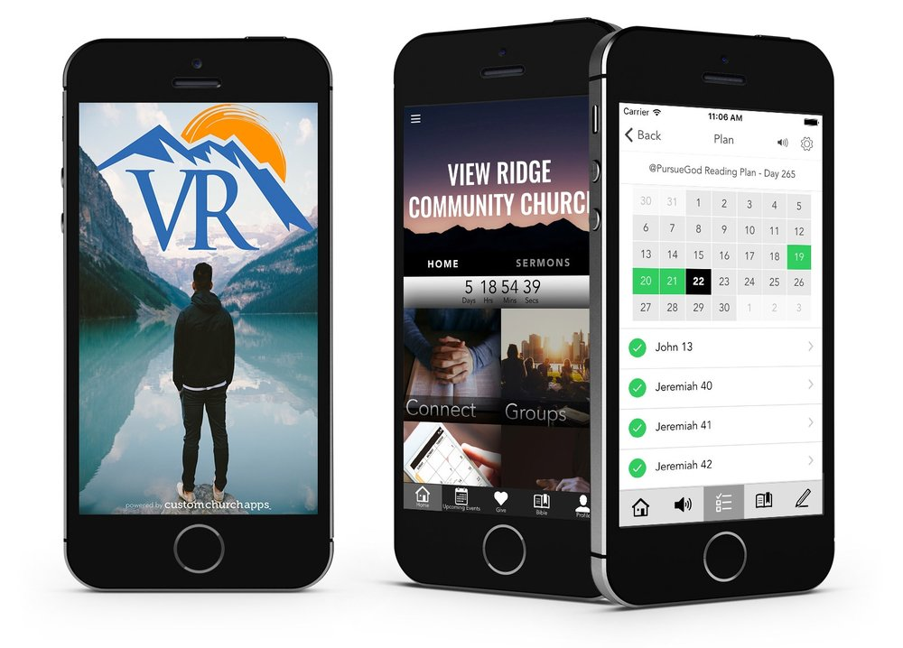 Click here   to download our app to stay on track with everything that happens within our church