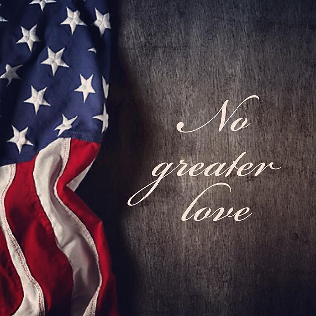 Today we remember those who paid the ultimate price for our freedom. 'Greater love has no one than this, than to lay down one's life for his friends' John 15:13 #memorialday #godblessamerica
