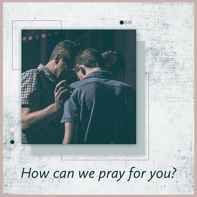 Is there an area in your life that needs a touch from God? Comment below or message us privately. #prayer