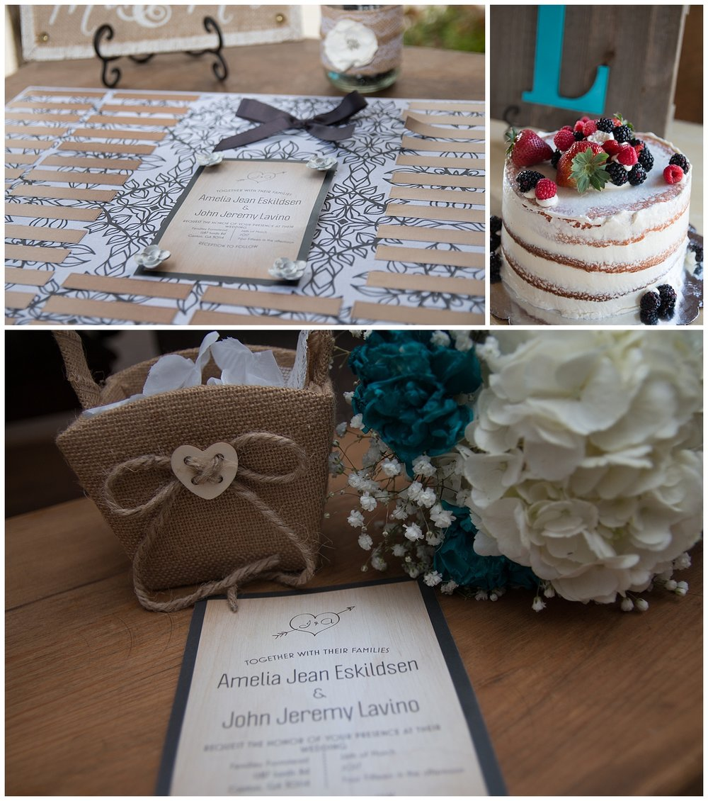 I loved all of the little details in John & Amelia's wedding.