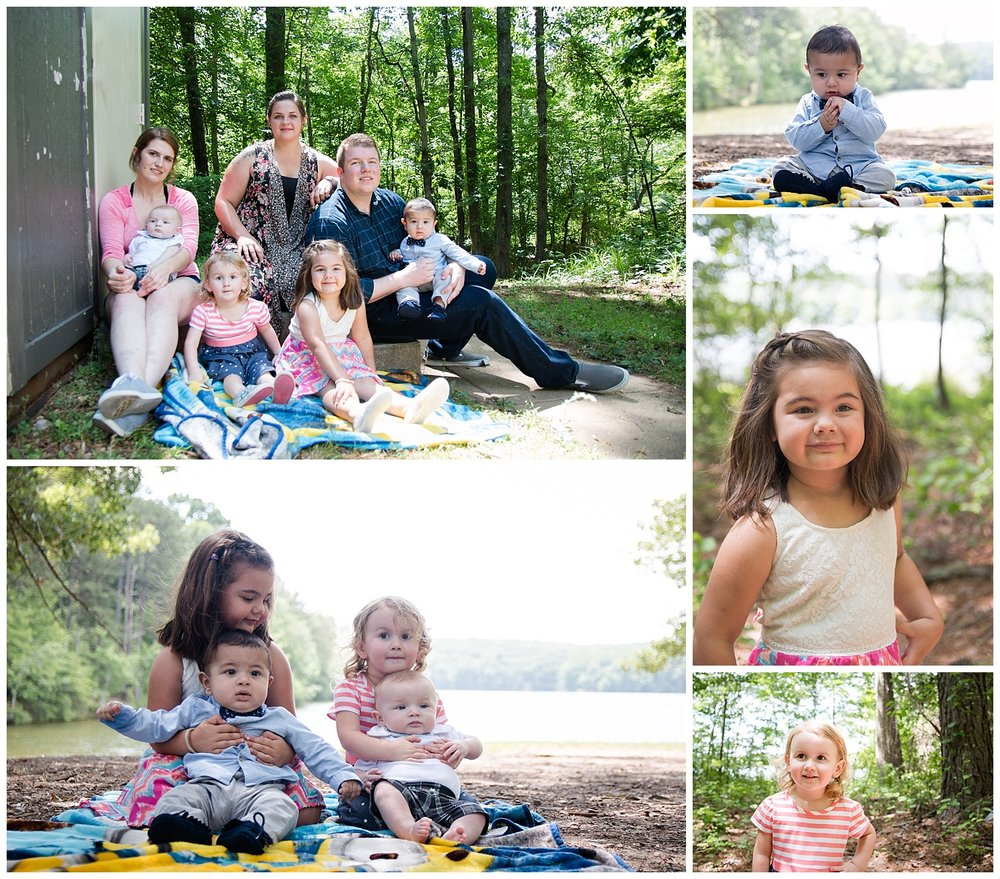 sweet water creek state park family portrait session