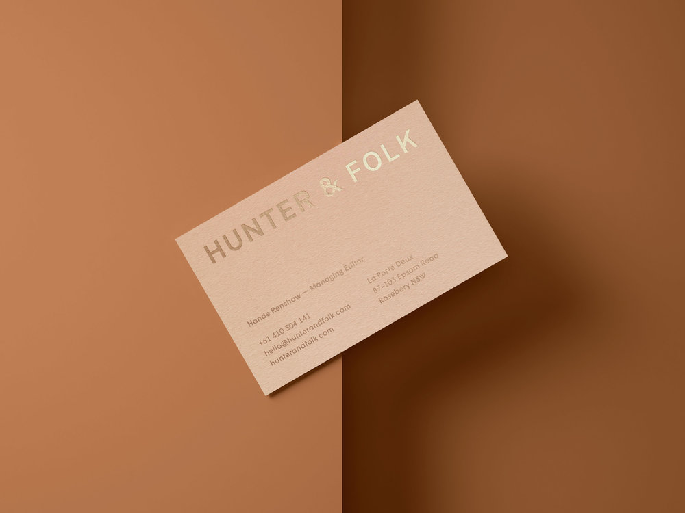 Hunter & Folk   Branding, Strategy, Digital + Editorial