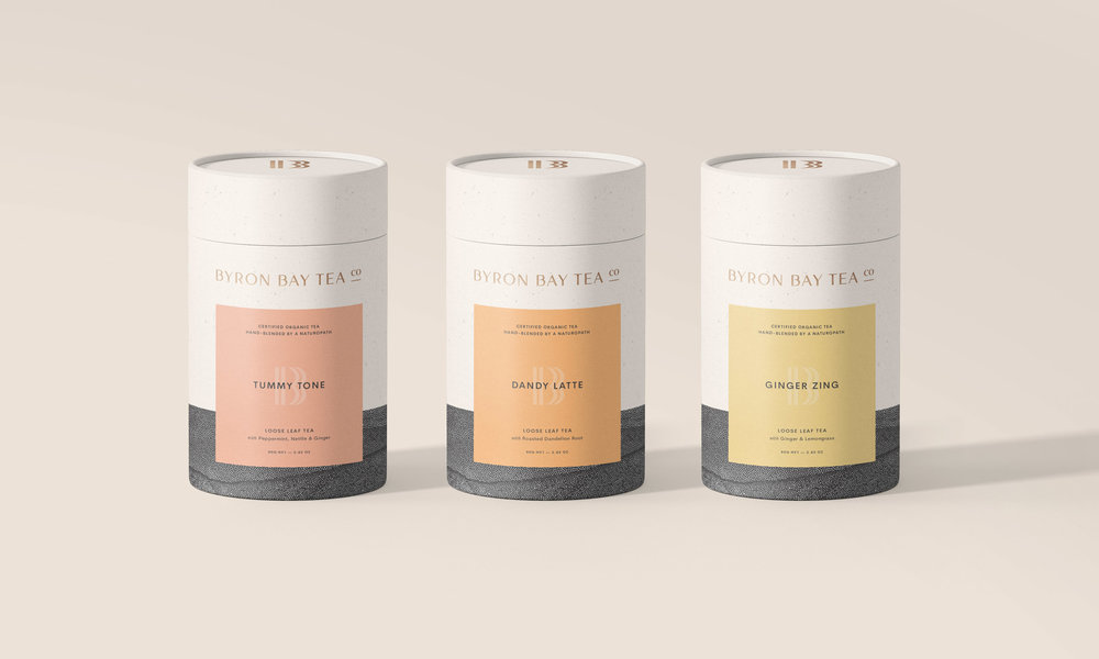 Byron Bay Tea Company   Branding, Strategy + Packaging