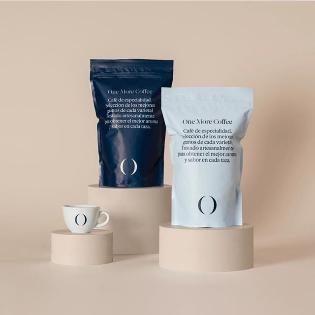 @onemorecoffeetea identity and packaging by @basora.
