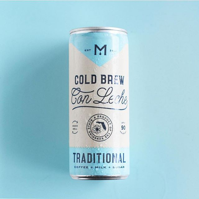 Cold brew packaging by @breakmaiden