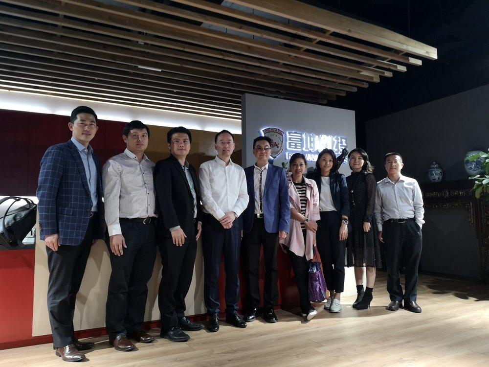 富坤团队和我司团队大合照。
