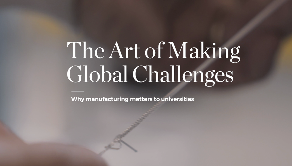 UOW GLOBAL CHALLENGES | THE ART OF MAKING