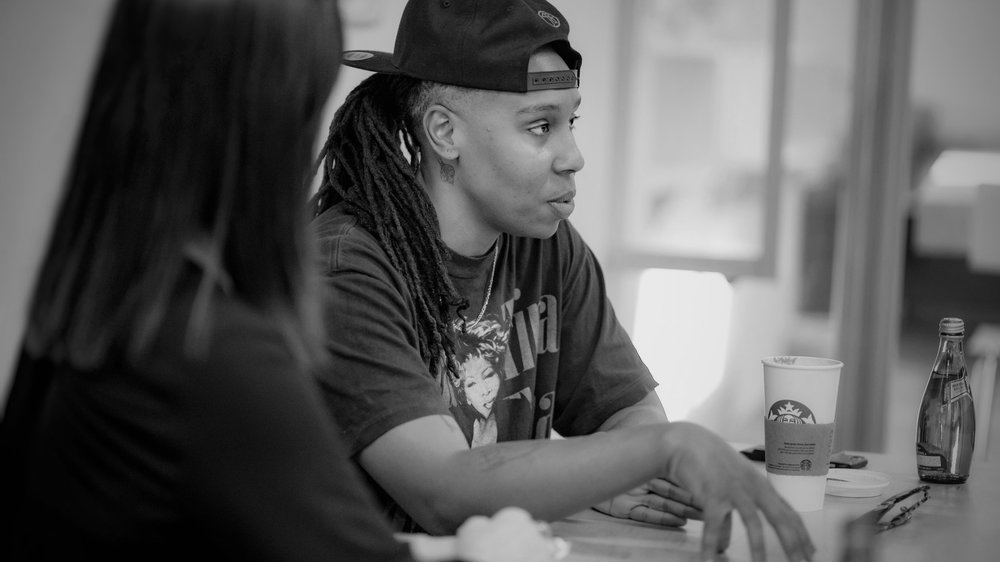 Lena Waithe talked about the importance of writing what you fear and creating characters who can lead their own show.