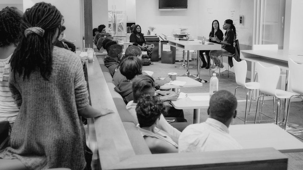 Script Anatomy students and alumni asked questions about branding yourself as a writer and how to navigate relationships with representation.