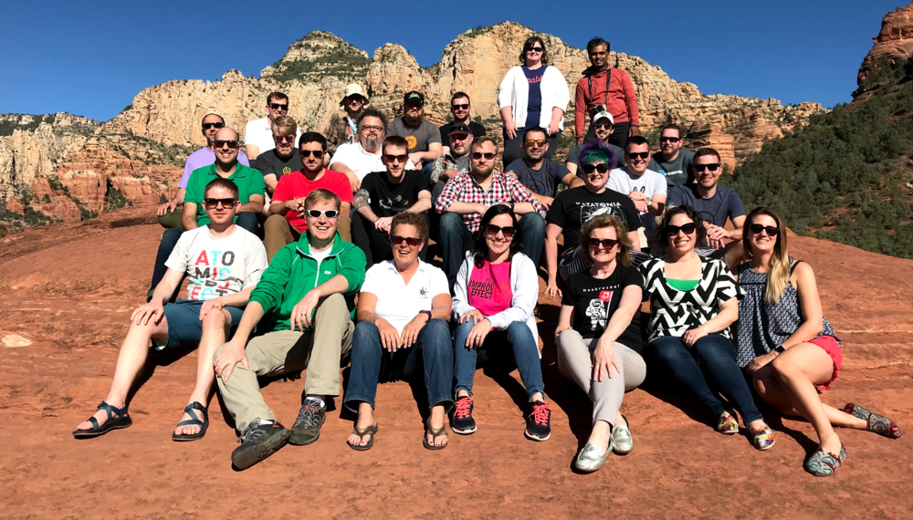 Big Ideas in Big Open Spaces - (Breaking the typical indoors conference experience by trekking out in Red Rock country)