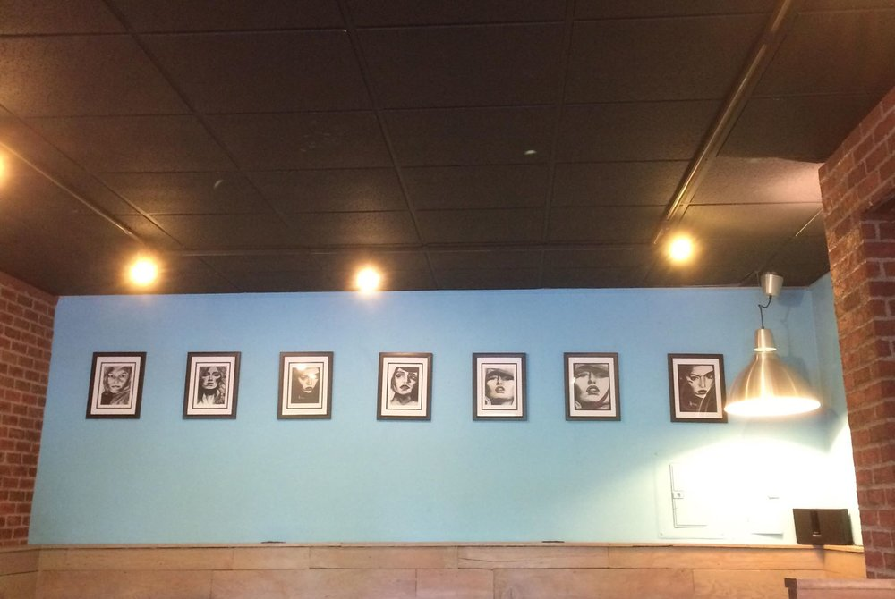 Exhibition at Freshy's Coffee in West Seattle