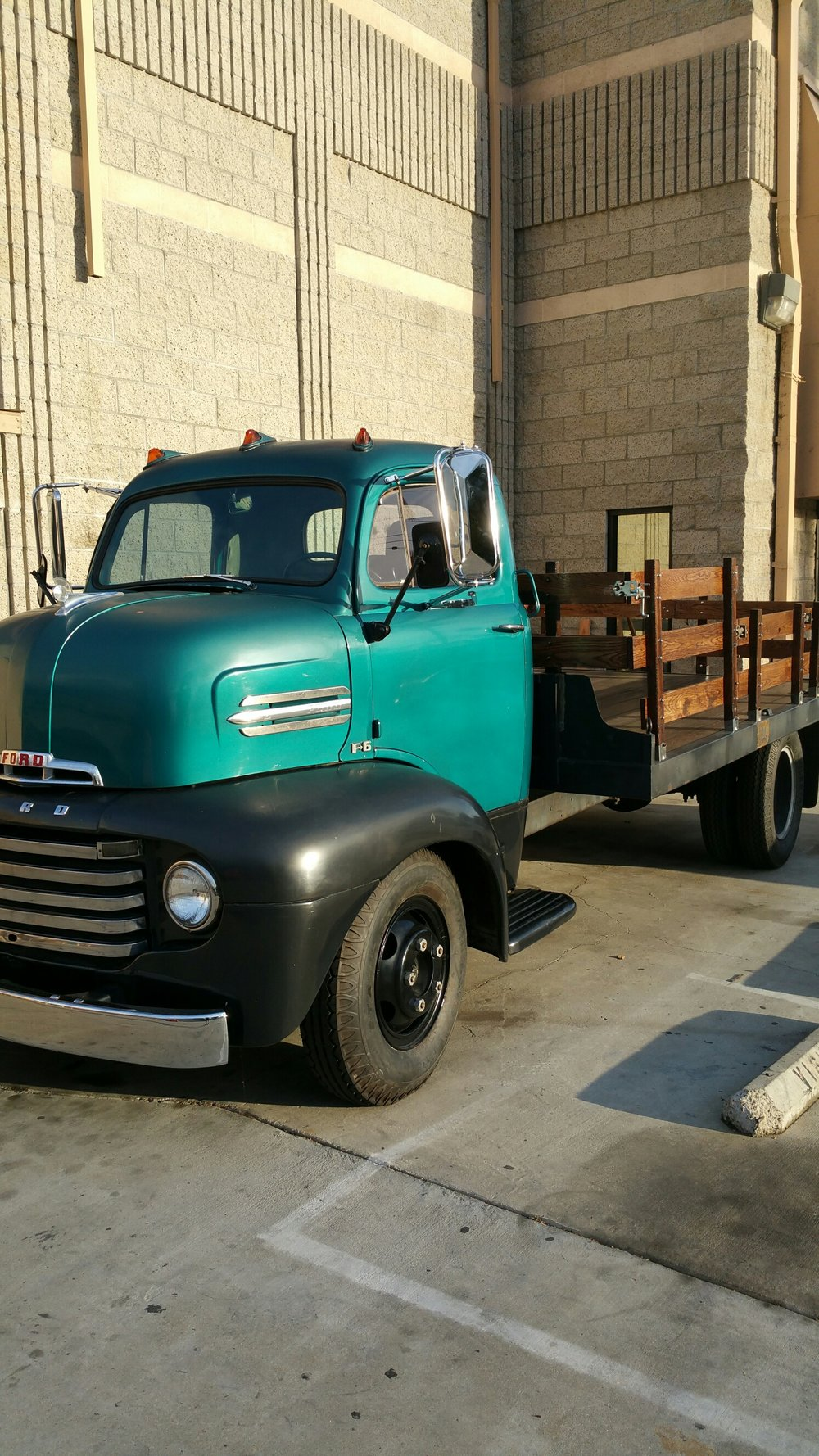 1949 Cabover Coe Stakebed Ford Truck