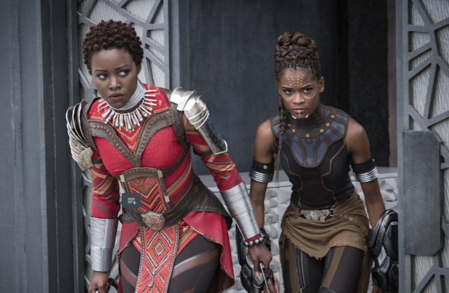 Costume design by Ruth E. Carter for the film Black Panther. Photo courtesy of Ruth E. Carter.