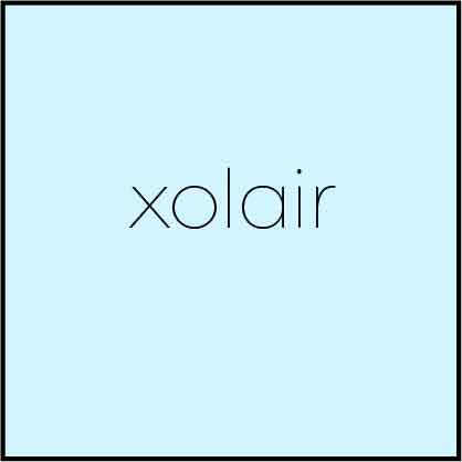xolair - Logo Vector Online 2018