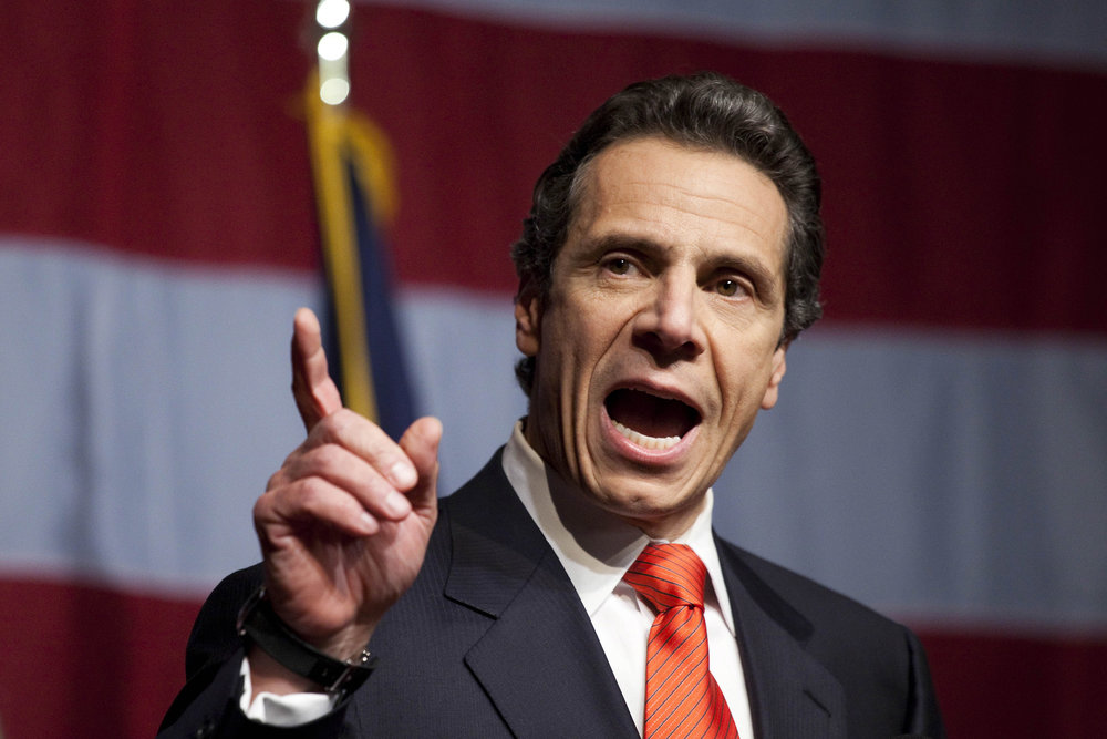 Governor Andrew Cuomo, New York State