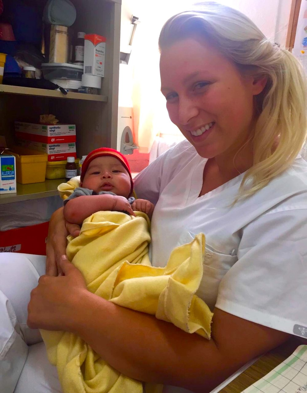 Prior to joining One Community Health, Caitlyn Witte, BSCN, taught breastfeeding at clinics in Guatemala, where she helped moms and babies alike.