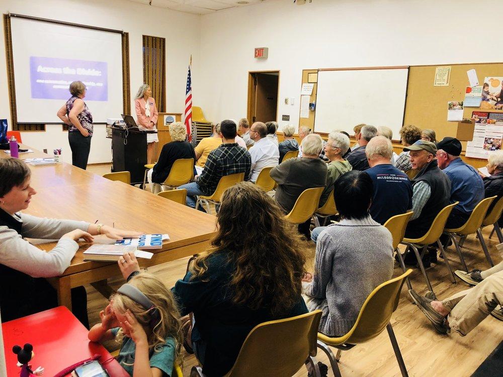bridging the political divide workshop The Dalles 2018