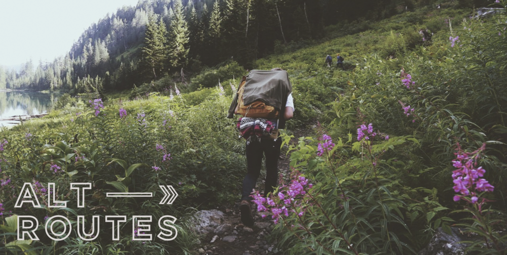 We Are Alternate Routes - Backpacking Adventures- Nashville Outdoor Company-