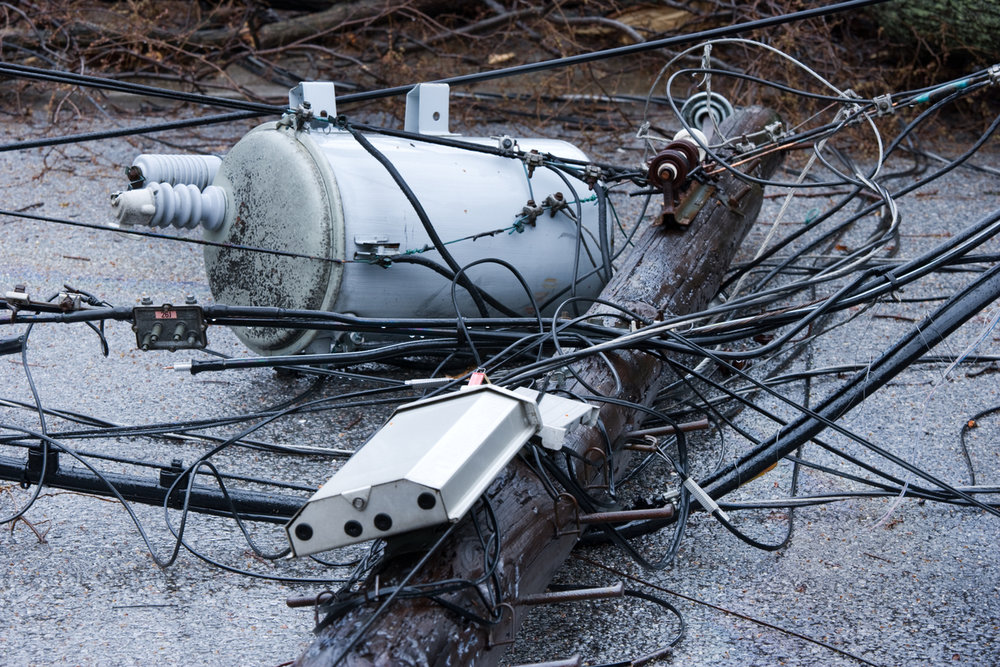 electrical wire down shock death electrocution settlement