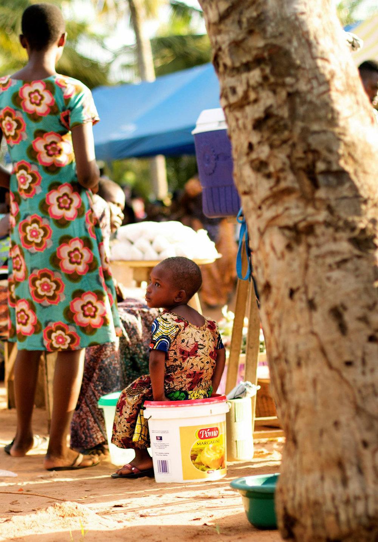 Waiting on Mom  Ghana, 2014