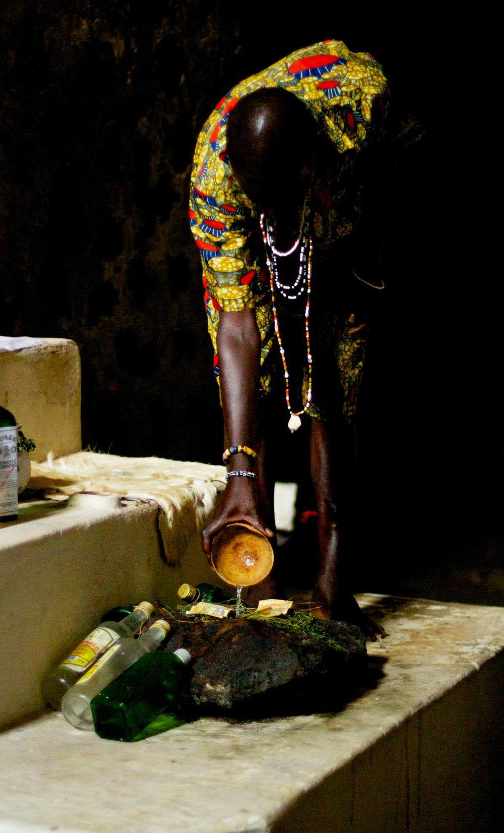 Anonymous Libations Ghana, 2014
