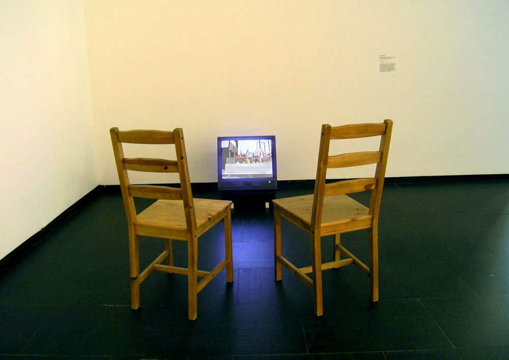 So go and become a storyteller (1st install) // Centro de Arte Dos de Mayo, Madrid 2012