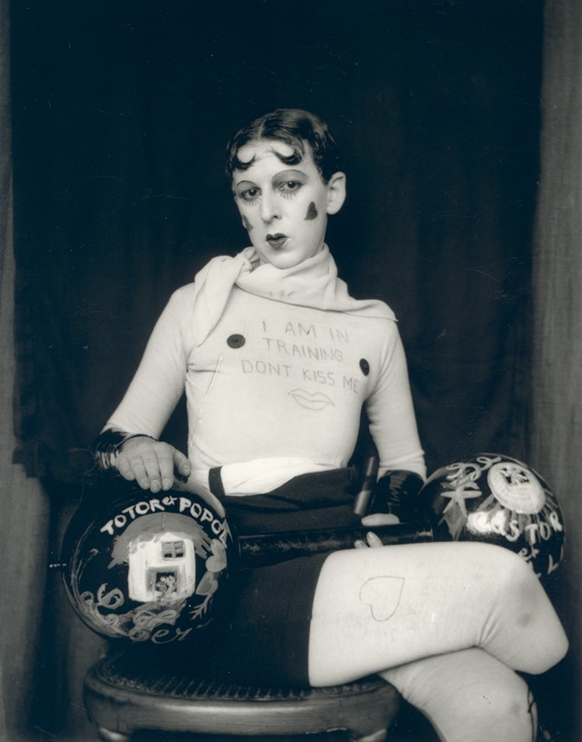 Claude Cahun,  Self Portrait  (1927)