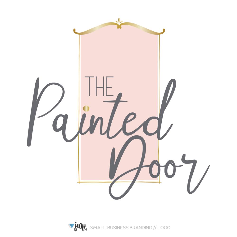 Mod Mavens + Co Logo Design || The Painted Door