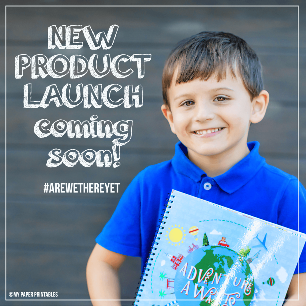 My Paper Printables New Product Launch