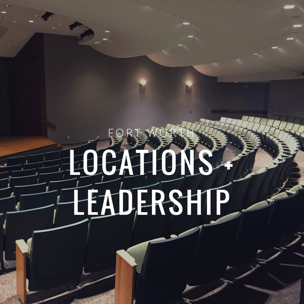 Locations + Leadership