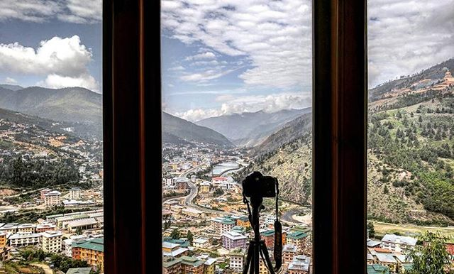 The view from our room 😍 📸 #loudmind @riddhi_parekh . . . #travel #journey #travelgram #adventure #loudminds #travelgoals #ootd #bhutan #igtravel #photography #love #wanderlust #instatravel #roadtrip #view #vacation #instagood #igtravel #traveling #thimpu #photooftheday #natgeotravel  #travelphotography #travelgroup #tour