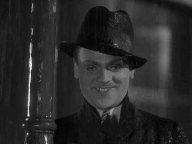 The intensity of James Cagney; A look of menace with a touch of insanity