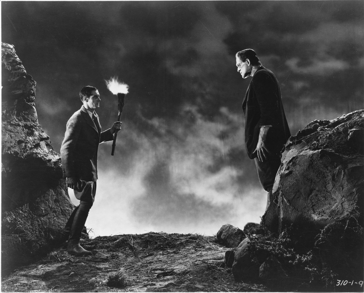 Both Frankenstein and his Monster are outcasts in this film. (Photo Credit: IMDB)