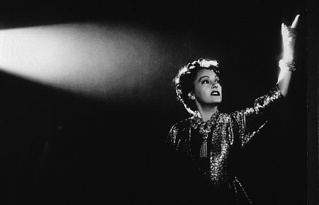 Gloria Swanson as Norma Desmond, the enigmatic silent-film star.  (Photo Taken from IMDB)
