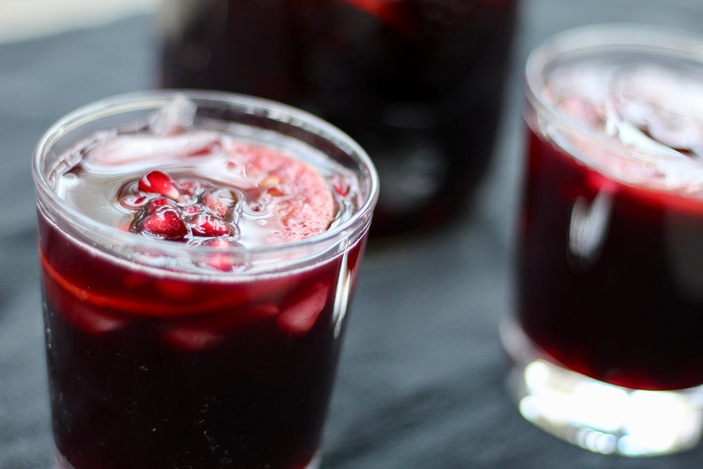 Holiday Spiced Sangria -