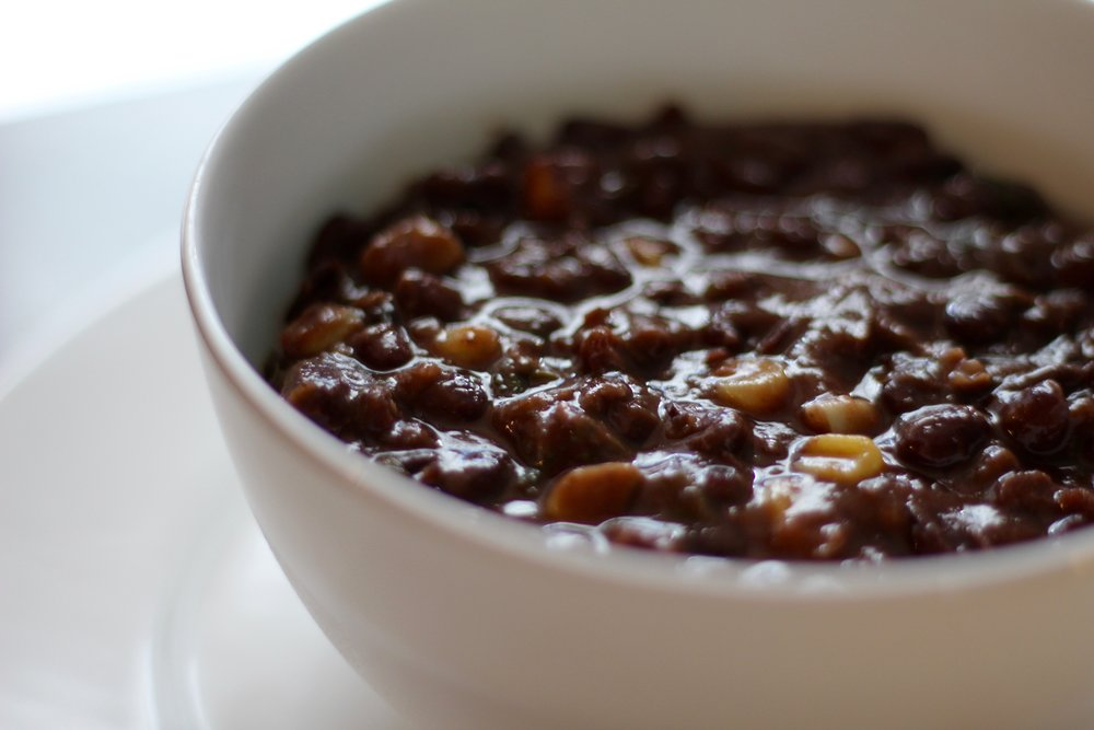 Black Bean Corn Soup -