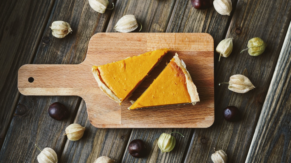 Vegan Pumpkin Pie -