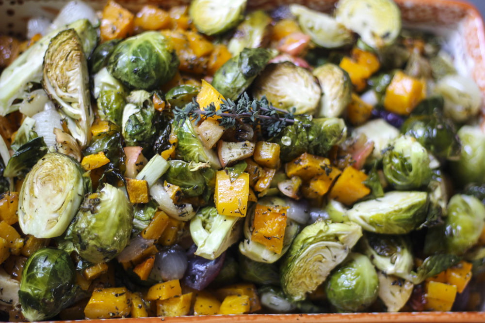 Holiday Roasted Veggies