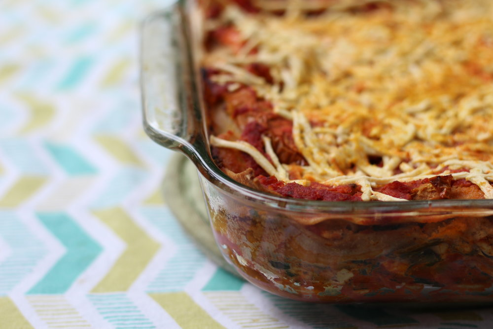 Vegan Lasagna - by Jenna Garcia