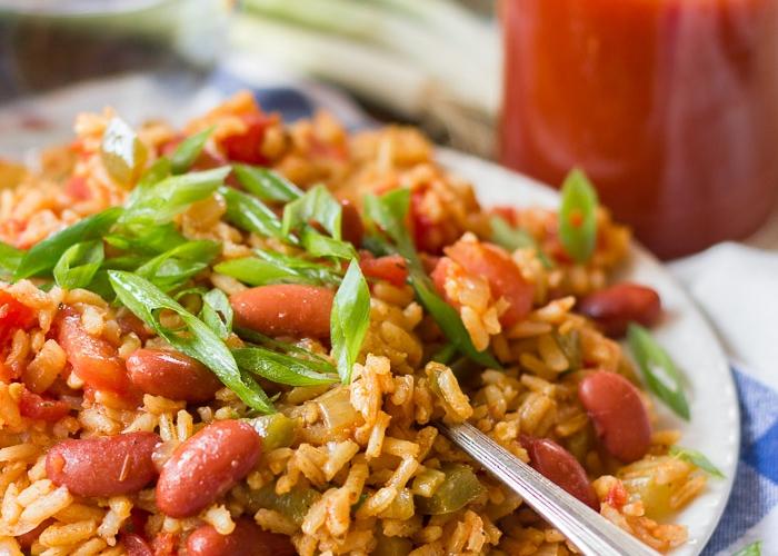 Vegan Jambalaya - by Alissa Saenz