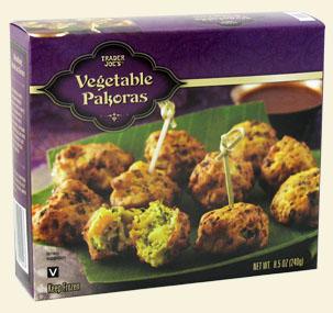 vegetable pakoras Trader Joe's
