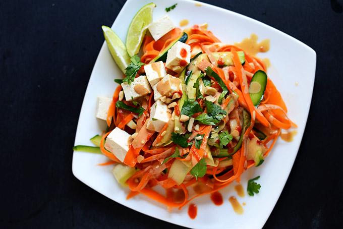 Noodle-Free Tofu Pad Thai - by Minimalist Baker
