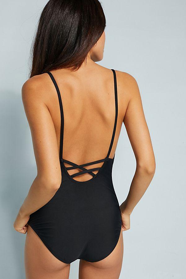 Anthropologie black swimsuit black.jpeg