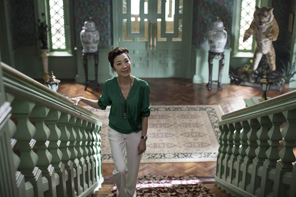Actress Michelle Yeoh plays Eleanor Young, Nick's mother. photo credit: IMDB