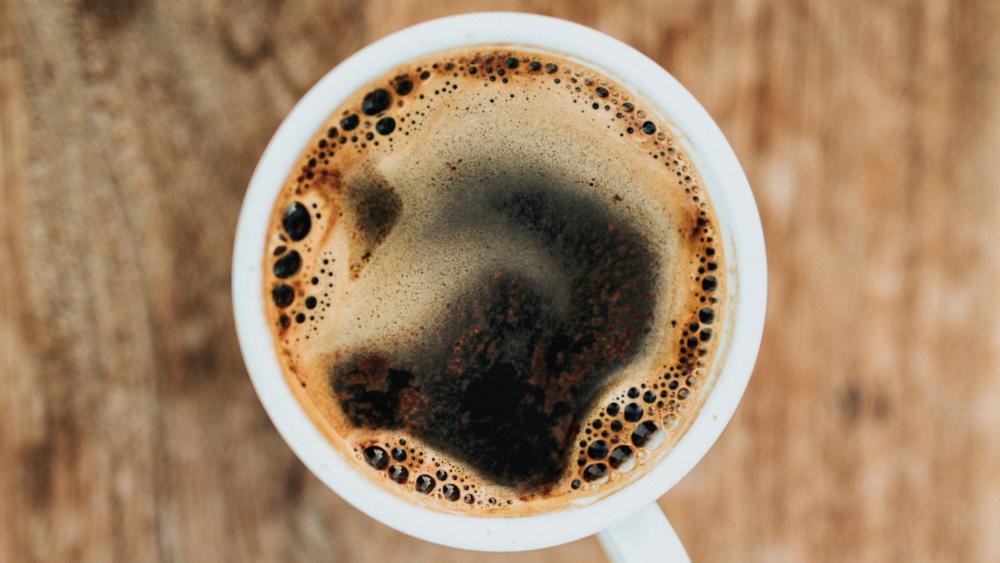 2. Bring your favorite morning beverage -